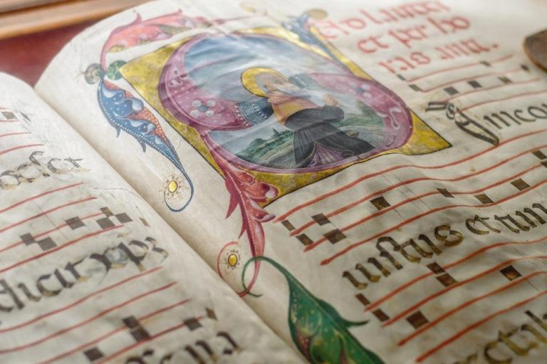 Medieval manuscript, Genova, Italy