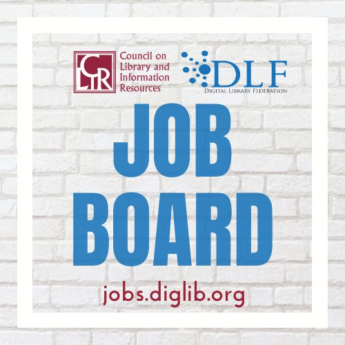 Logo for CLIR and DLF Job Board