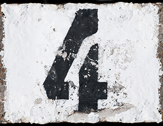 numeral four