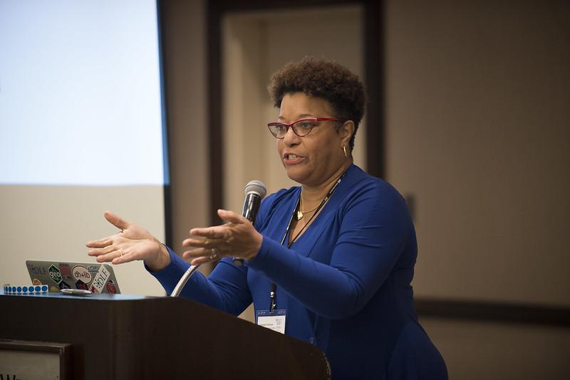 Loretta Parham at DLF+HBCU Preconference