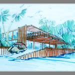 Landscape design, Lew Clarke