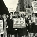 Workers Alliance, NYC, 1936